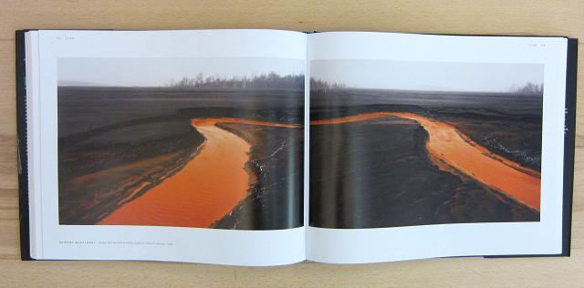 "Edward Burtynsky, ""Nickel Tailings #34 and #35, Sudbury, Ontario, Canada"" (1996), in the ""Scar"" chapter"