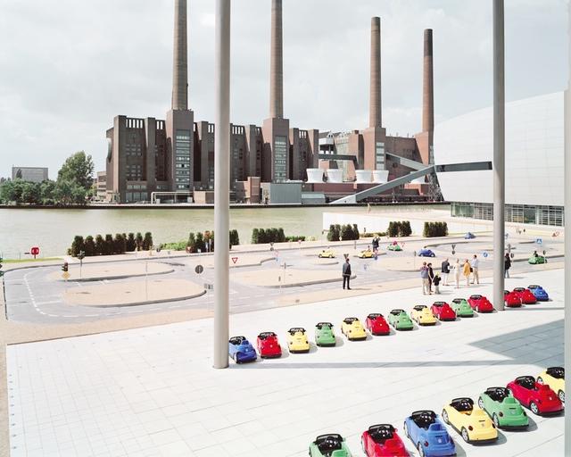 Massimo Vitali, VW Lernpark 2, 2001, C-prints with Diasec mount, ©Massimo Vitali