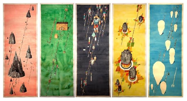 """Rob Sato, """"Five Movements for Little Guys"""" (via marthaotero.com)"""