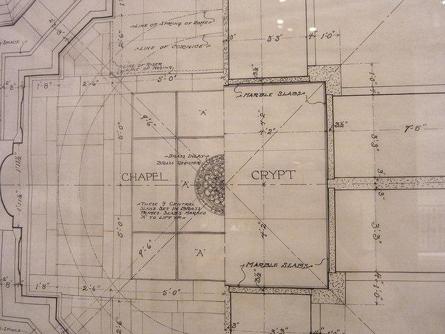 McKim, Mead & White, design for Henry Augustus Coit Taylor mausoleum (1900)