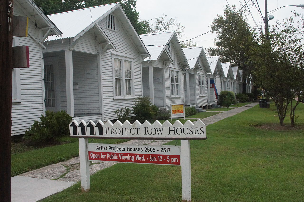 Lowe's Project Row Houses in Houston (photo  by Hourick/Wikipedia)