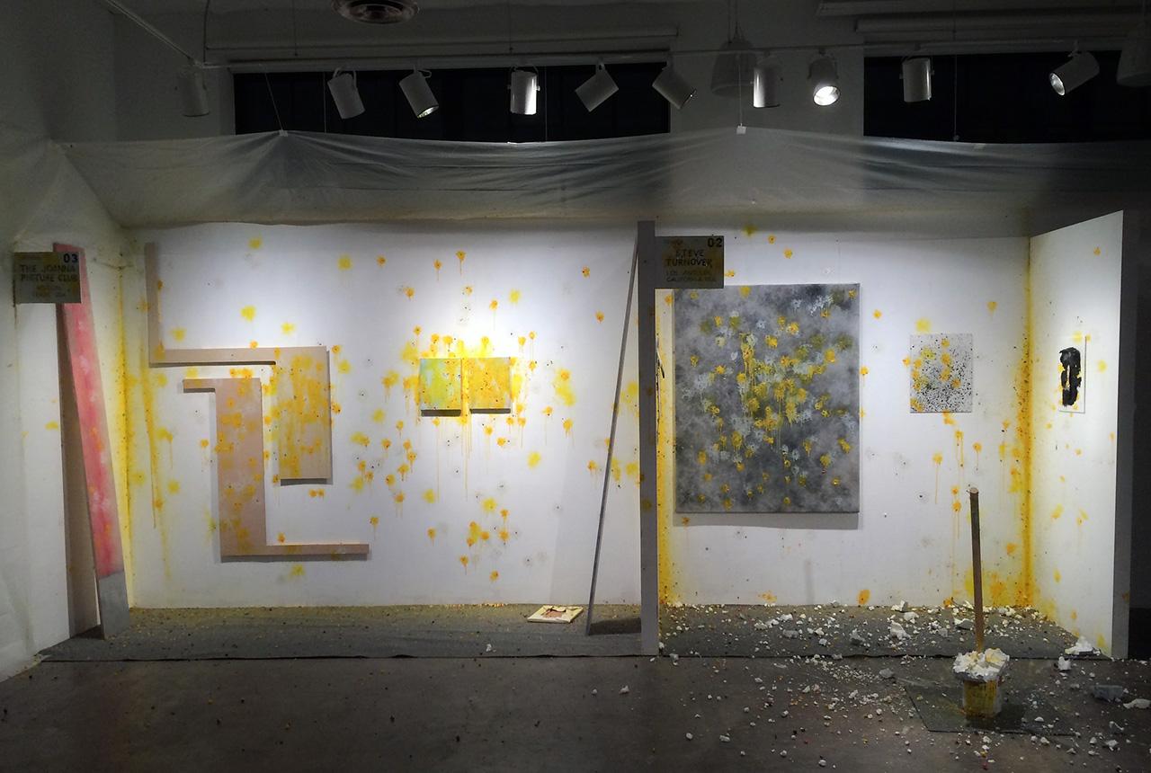 The results of N(ev)ada Art Fair shooting gallery in New New Berlin