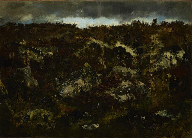 Rousseau Rocky Landscape Fontainebleau