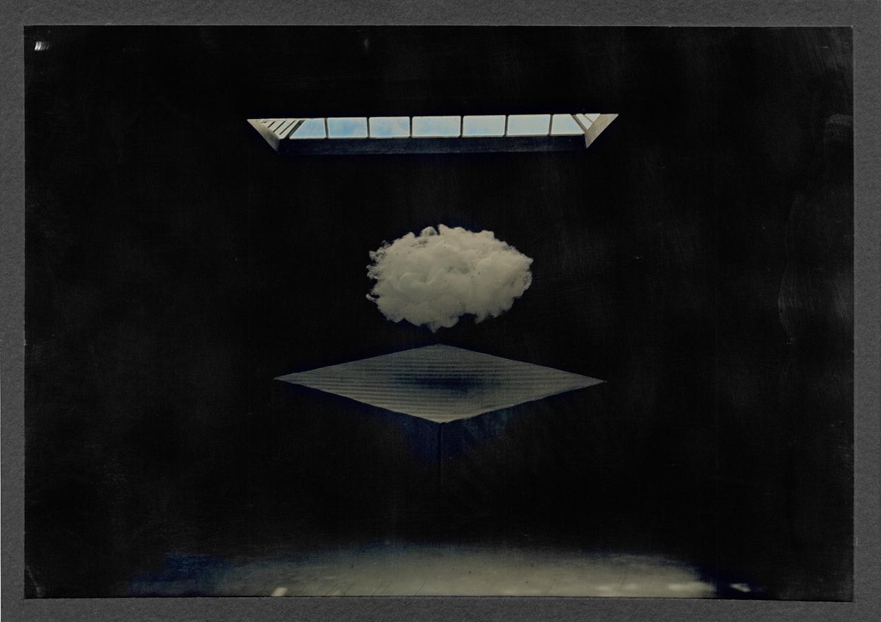 """Sean Culver, """"Presence Series: Gift"""" (2006), gilded mercurial daguerreotype (© Sean Culver)"""