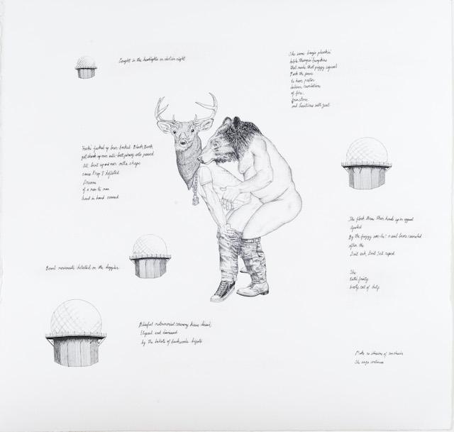 "Ray Anthony Barrett, ""Bear Bare-backing Buck"" (2014) from Ruff Ridin'"