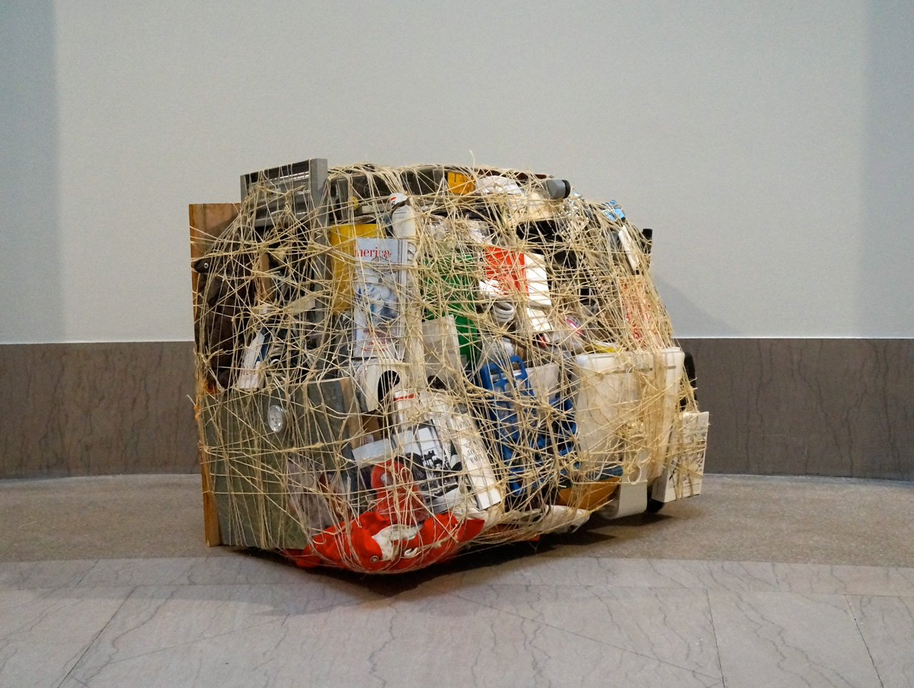 """Mary Mattingly, """"Cube"""" (from the 'House and Universe' series) (2013)"""