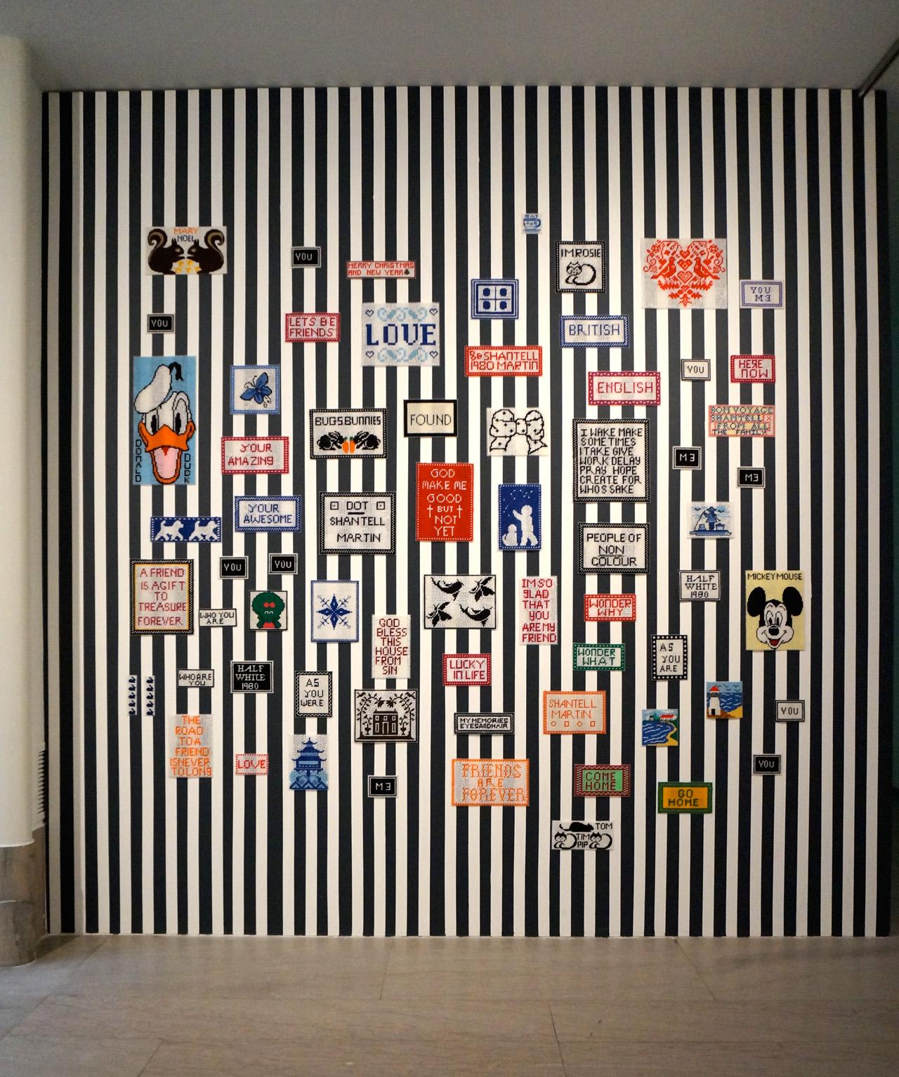 """Shantell Martin, """"Dear Grandmother"""" (2012–ongoing)"""