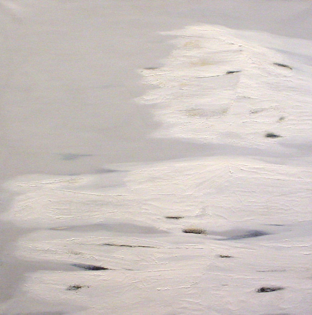 John Franklin Koenig, _Le tombeau de Belial_ (1960) oil, 110x110cm