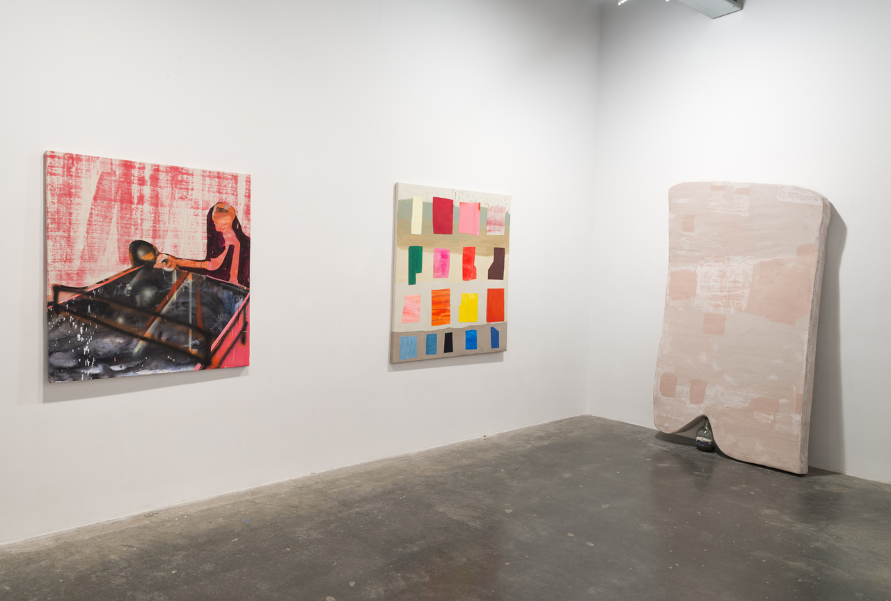 Installation view, 'Ezra Johnson: It's Under the Thingy' at Freight + Volume (all photos by Adam Reich, courtesy the artist and Freight + Volume, New York)