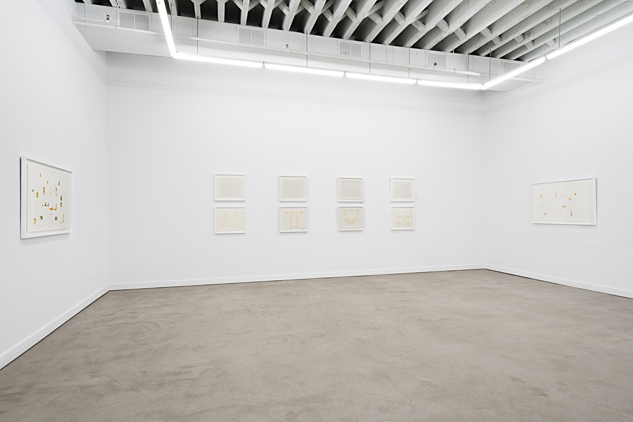"""Installation view, """"Lilli Carré: The Pleasure of Getting Lost"""" at Western Exhibitions (all photos by James Prinz, images courtesy Western Exhibitions)"""
