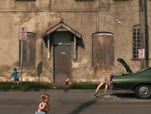 """Loading Zone"" by Julie Blackmon"