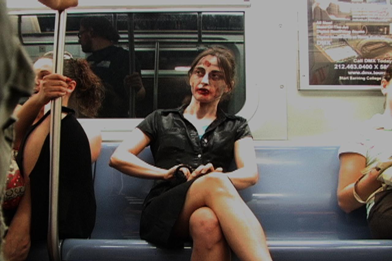 """Jillian McDonald, still from """"Horror Make-Up"""" (2006)"""