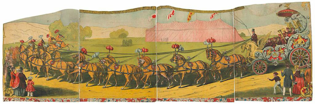 American, Circus Poster, 1850-1855. Museum Works of Art Fund. Courtesy of the RISD Museum, Providence, RI.