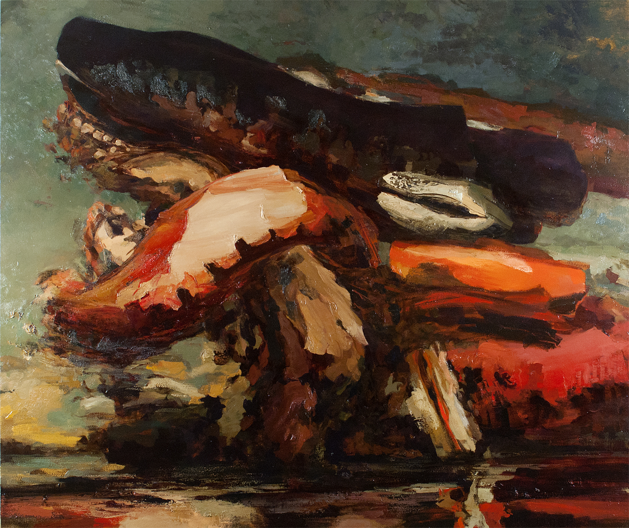 From Goya to Ab-Ex in a Series of Brushstrokes