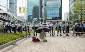 Post image for Beijing Artists Arrested for Showing Solidarity with Hong Kong Protest