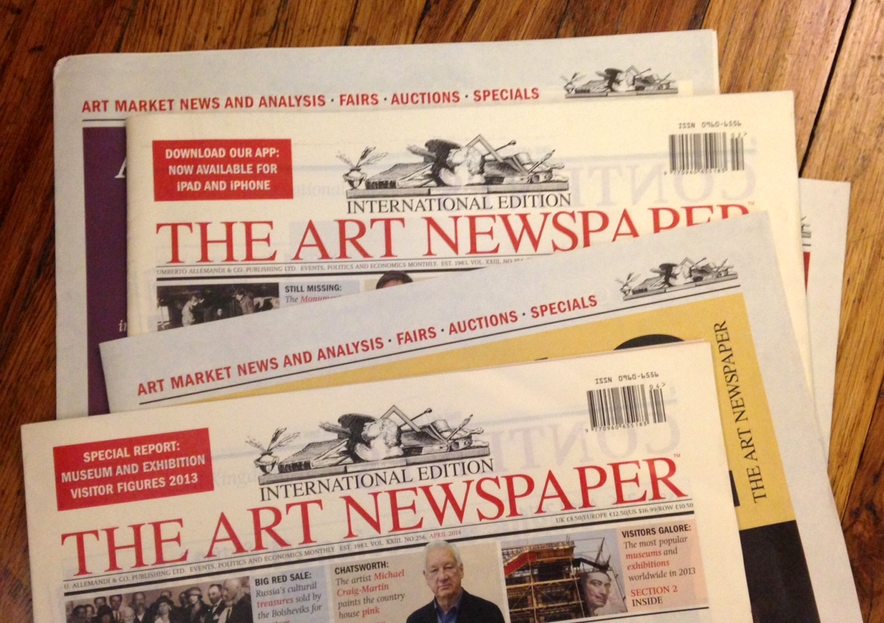 """The art newspaper on twitter: """"aican the ai artist: putting the."""