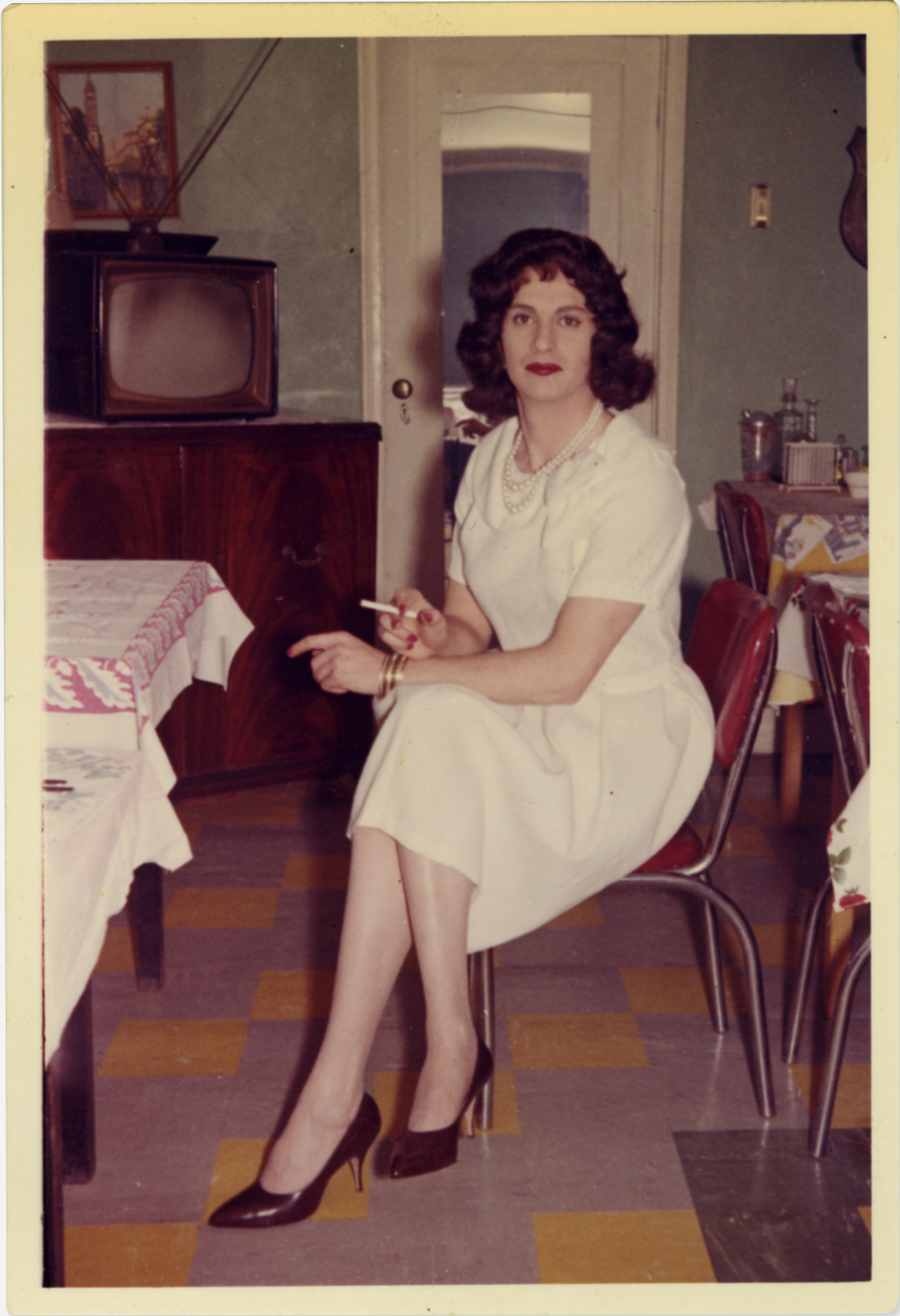 Photographs from a 1950s cross dressing retreat