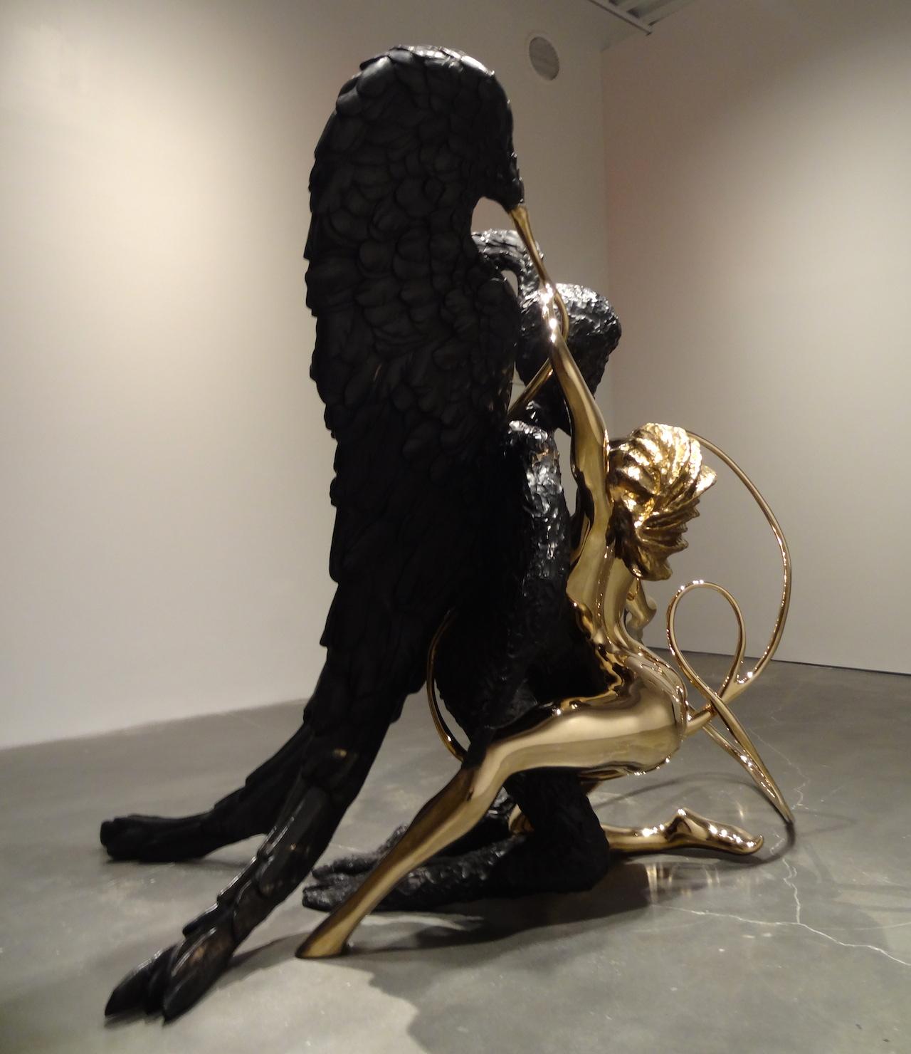 "Chris Ofili, ""Annunciation"" (2006)"