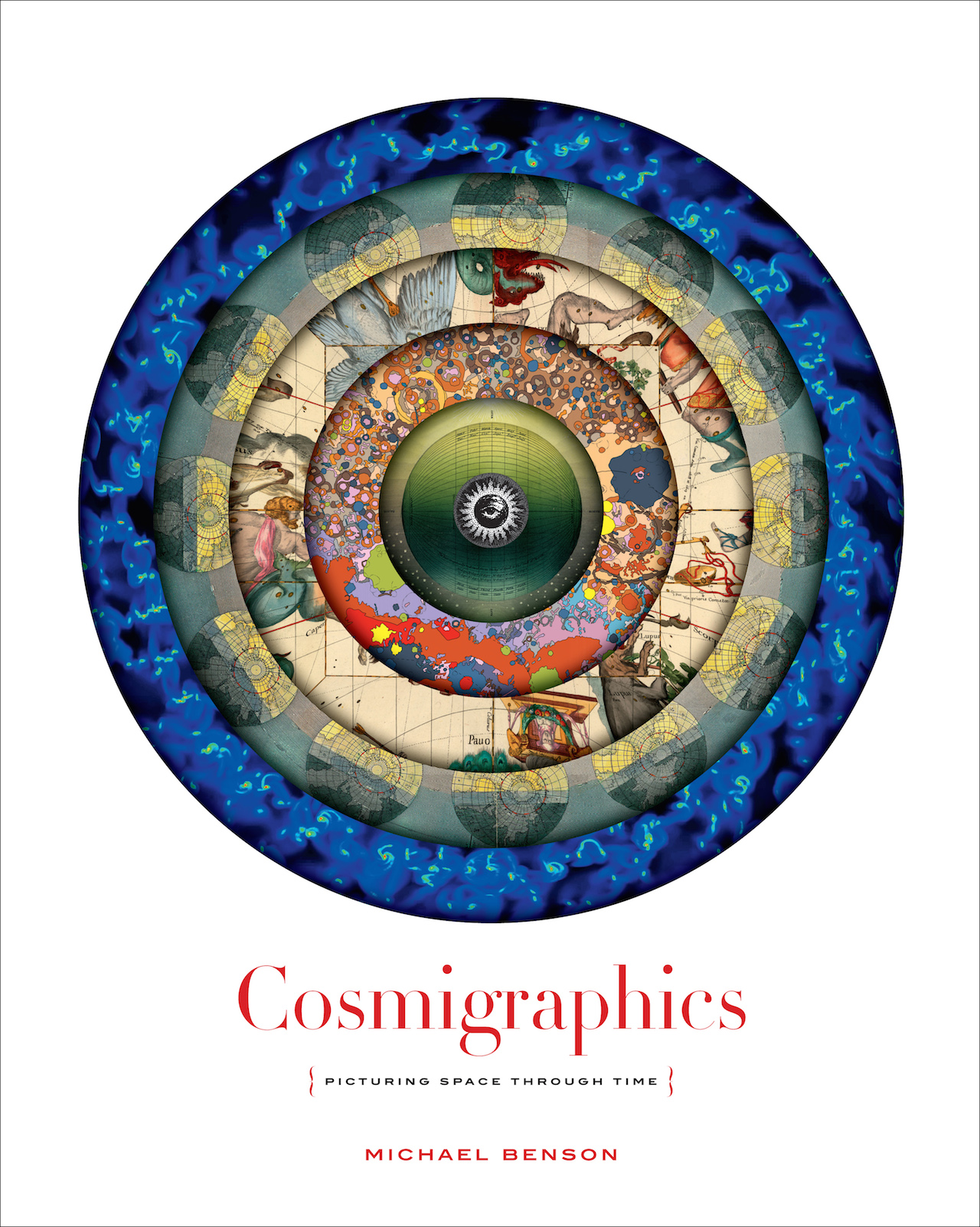 """Cover of """"Cosmigraphics"""""""