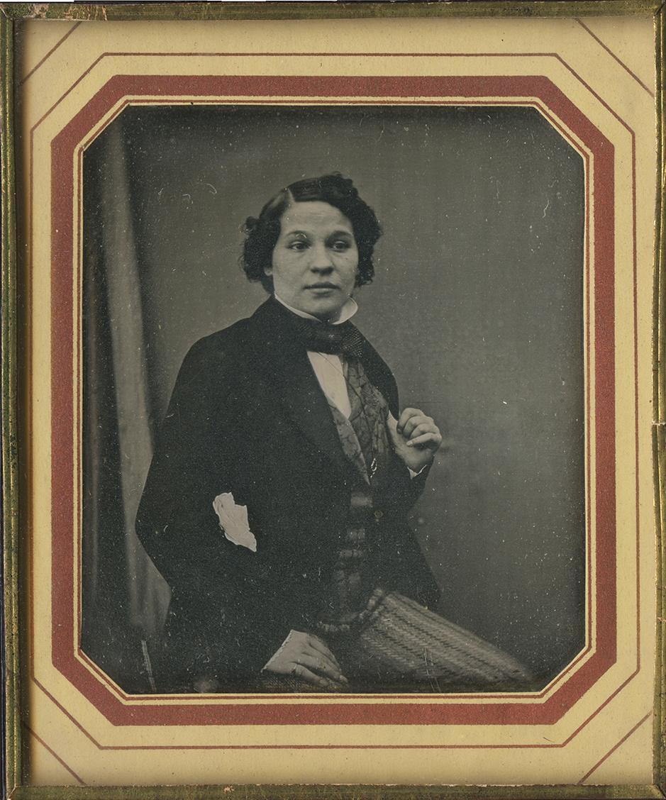 Anonymous portrait of a woman? (c. 1835), daguerreotype