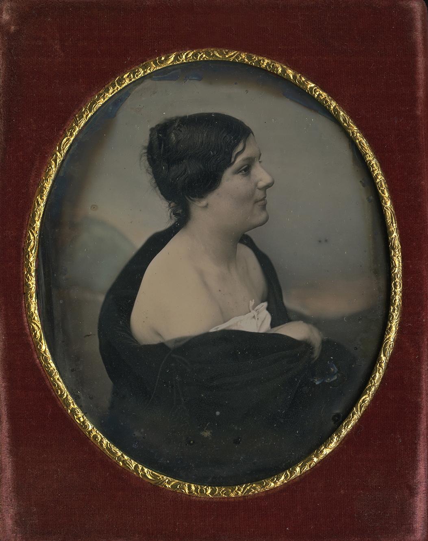 Anonymous portrait of a woman (c. 1830), daguerreotype
