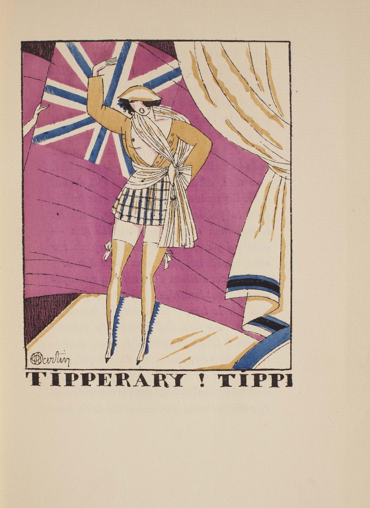 """Marcel Astruc. """"Tipperary! Tippi."""" Mon cheval mes amis et mon amie. Illus. by Charles Martin. Paris: La Renaissance du Livre, 1921"""