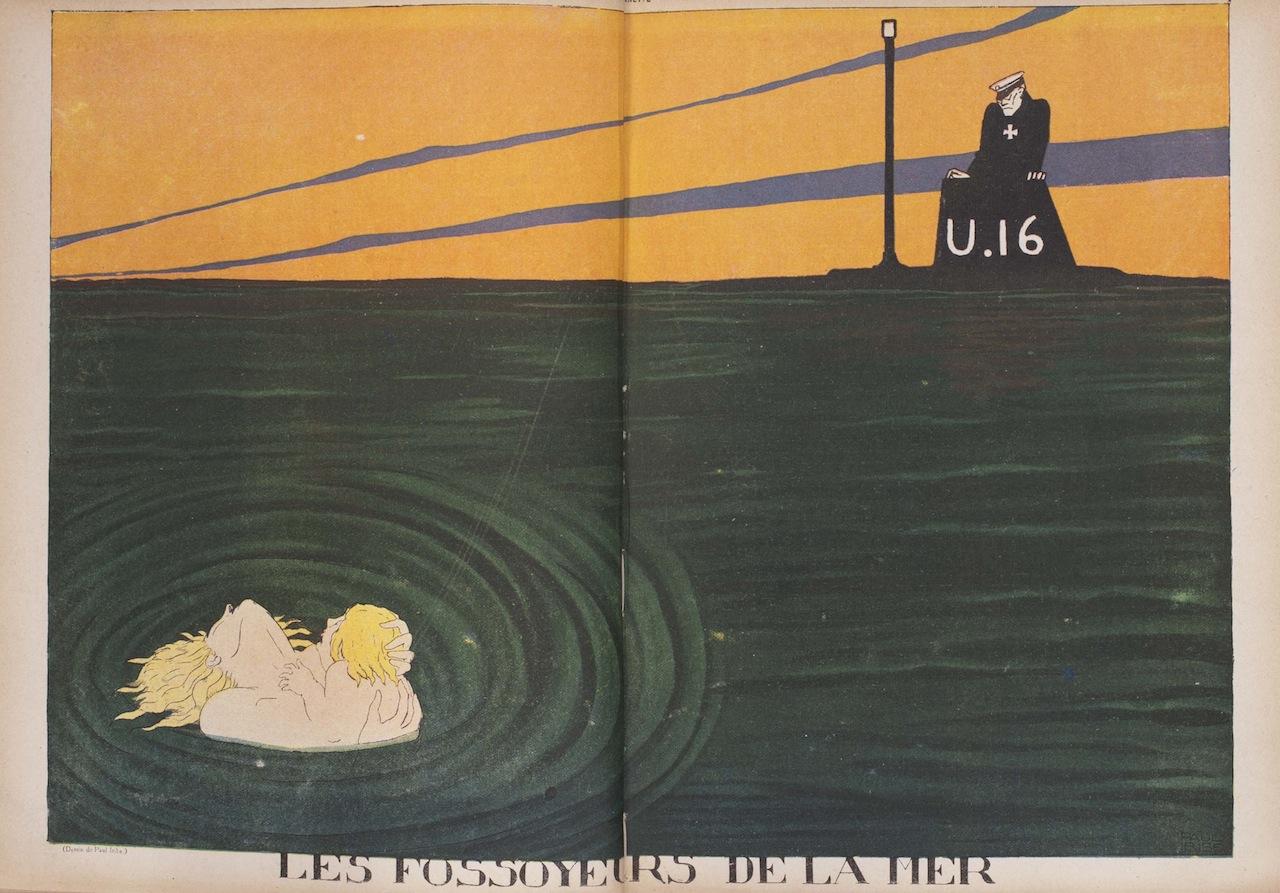 """""""Les fossoyeurs de la mer."""" La baïonnette, 22 juin 1916"""