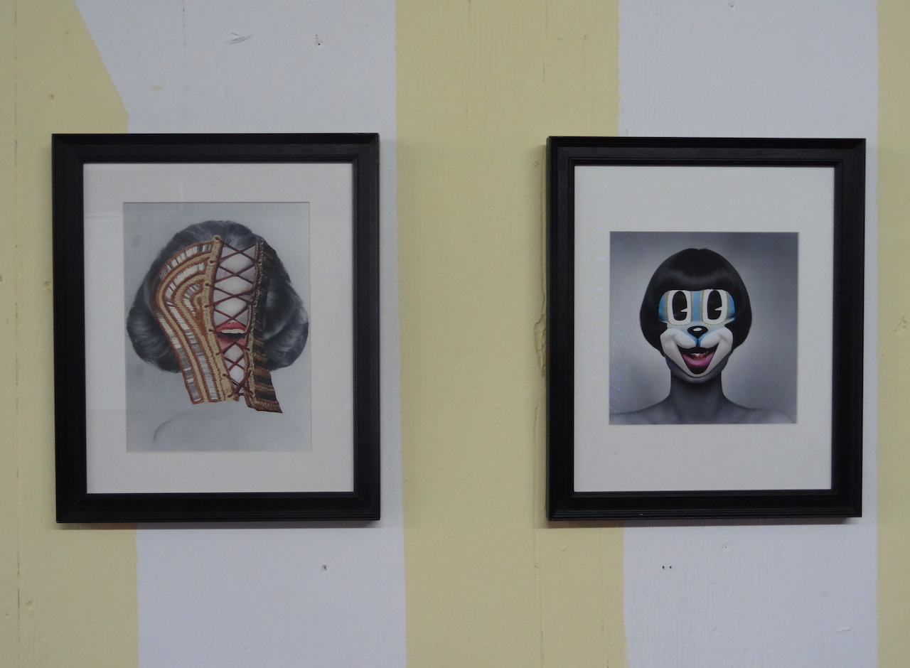 Collages by Jay Cloth, presented by London's Studio 1.1