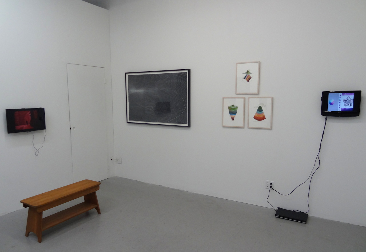 Installation view of 'This Dust,' an exhibition presented by Berlin's GSL Projekt at Tiger Strikes Asteroid