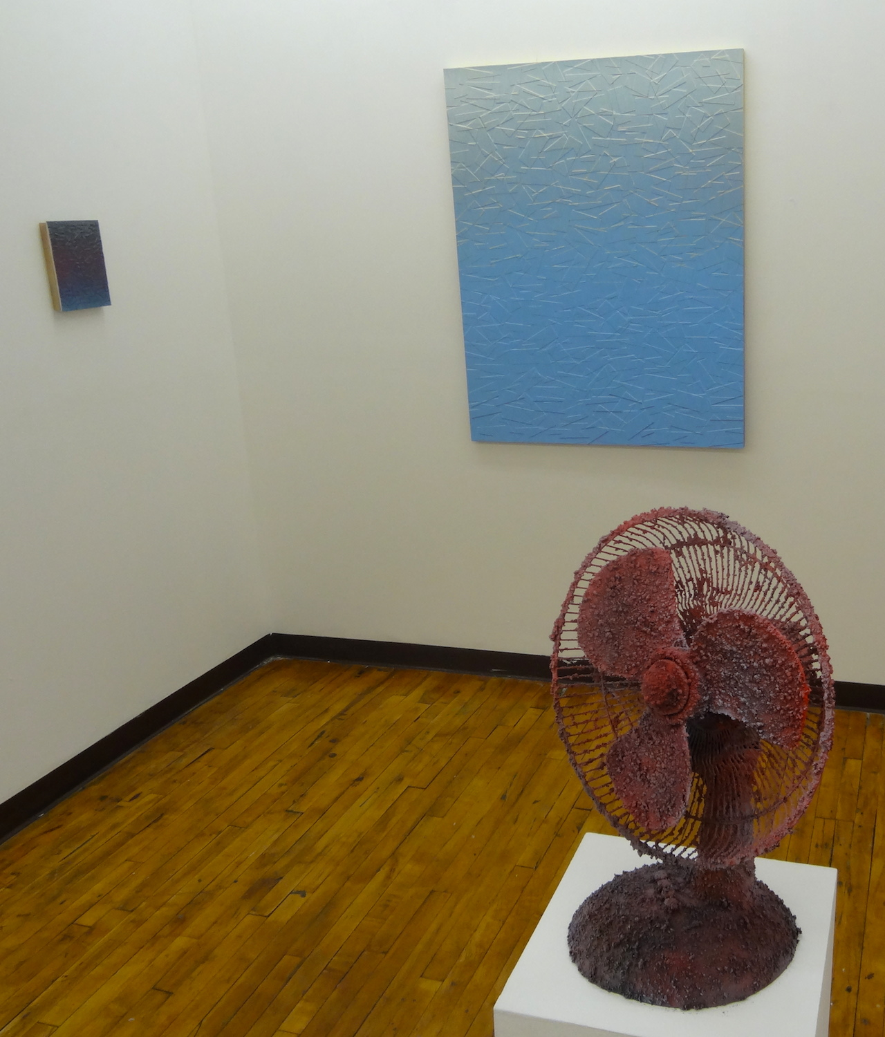 Works by Julian Lorber, presented by Associated Gallery, at The Active Space