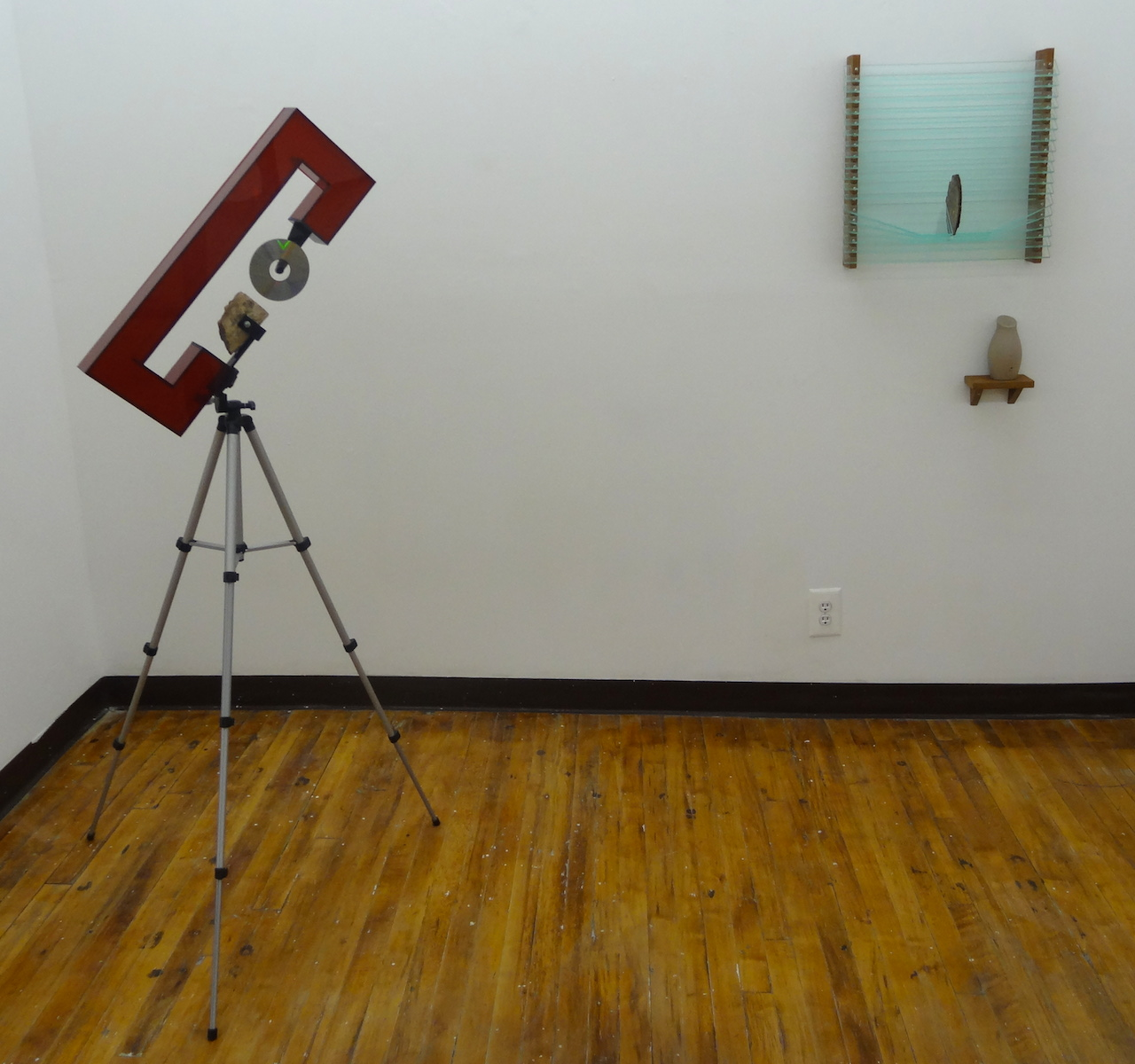 Works by Joshua Johnson, presented by Parallel Art Space, at The Active Space