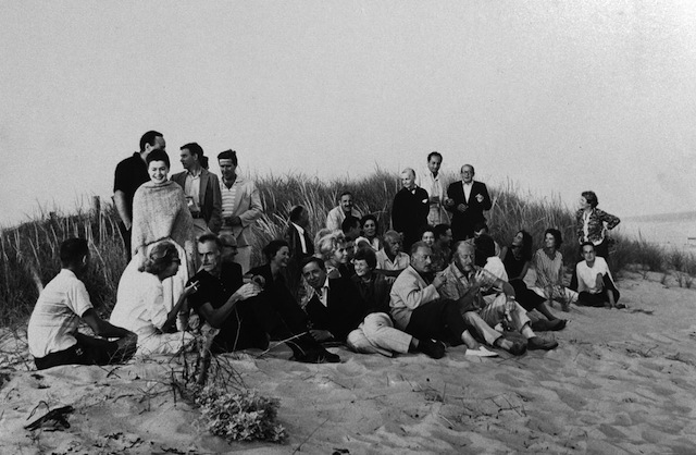 Hans Namuth's photo of artists in the Hamptons, 1962 (via clyffordstillmuseum.org)