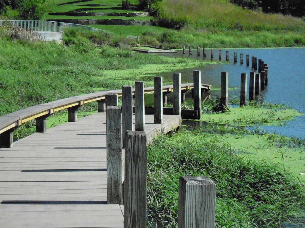 Greenwood Pond: Double Site Des Moines, IA Photograph © Judith Eastburn, 2014, courtesy The Cultural Landscape Foundation.