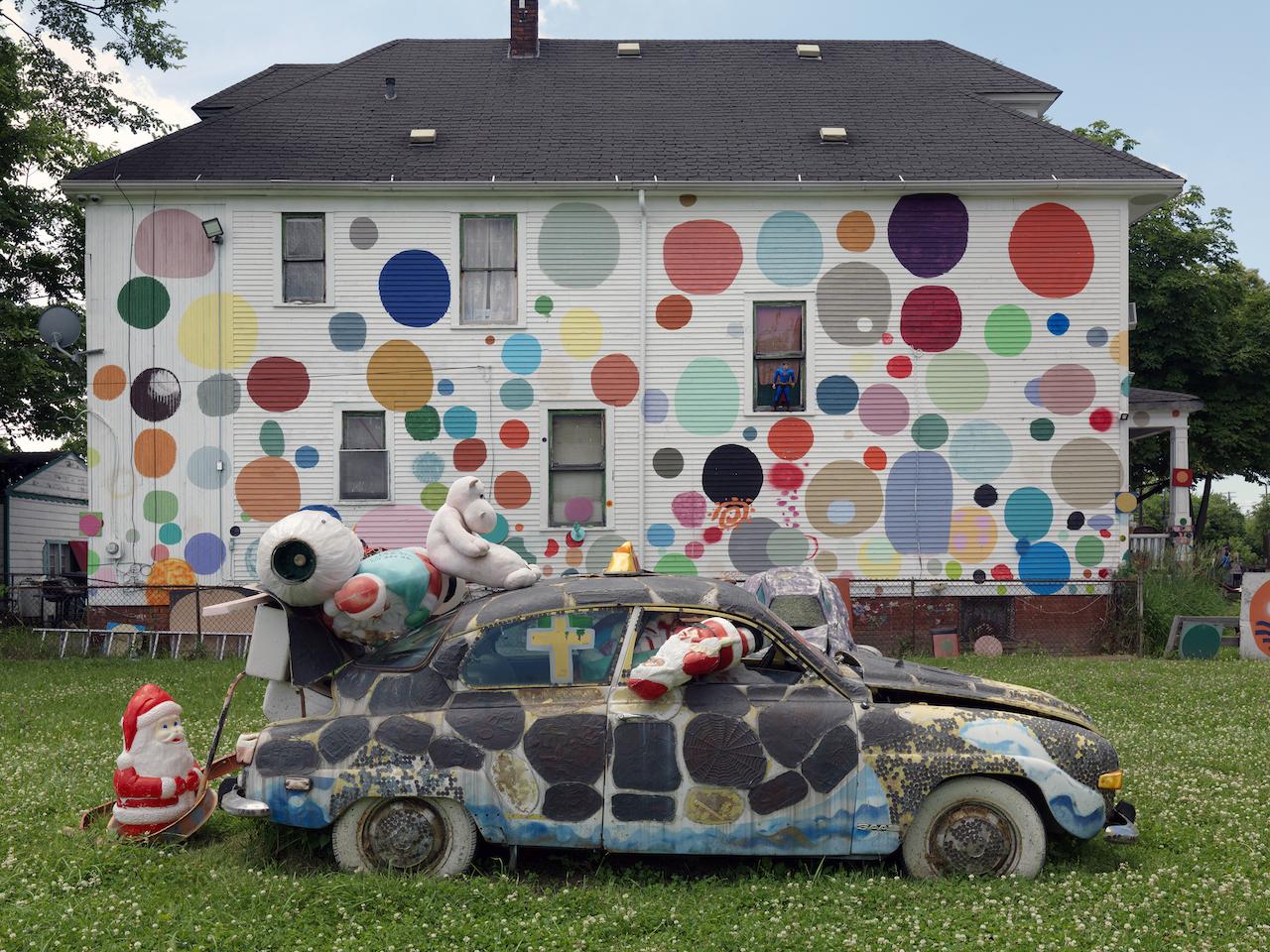The Heidelberg Project Detroit, MI Photograph © Dave Jordano, 2014, courtesy The Cultural Landscape Foundation.