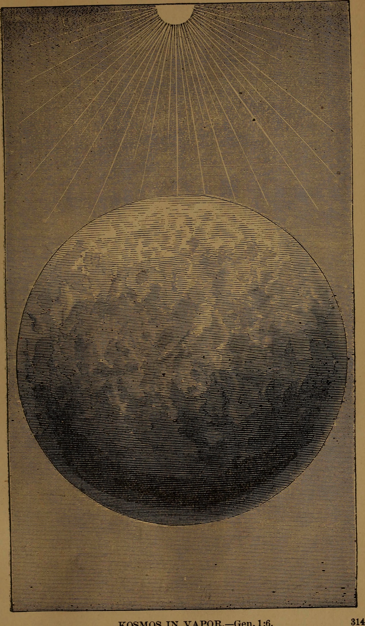 "Illustration from ""God in nature and revelation"" (1875)"