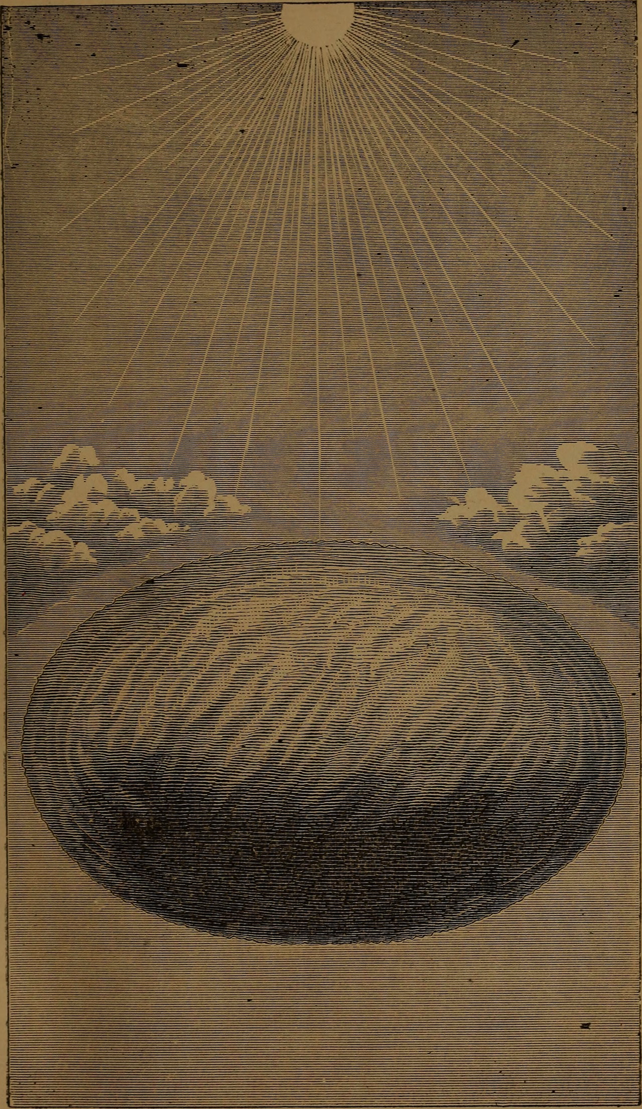 """Illustration from """"God in nature and revelation"""" (1875)"""