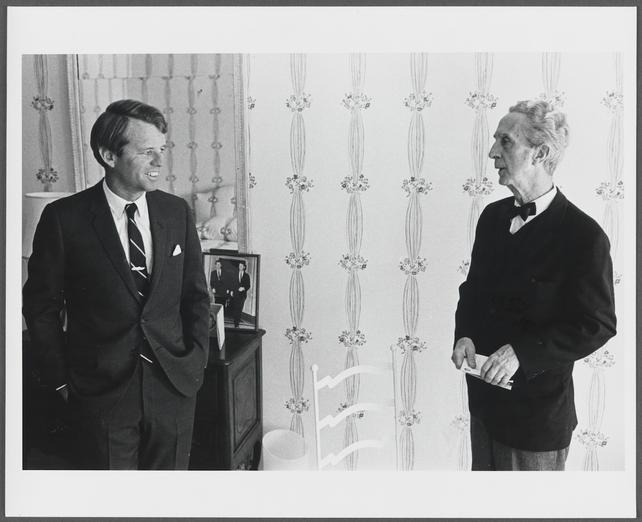 Reference photo for Norman Rockwell's portrait of Robert F. Kennedy, circa 1968
