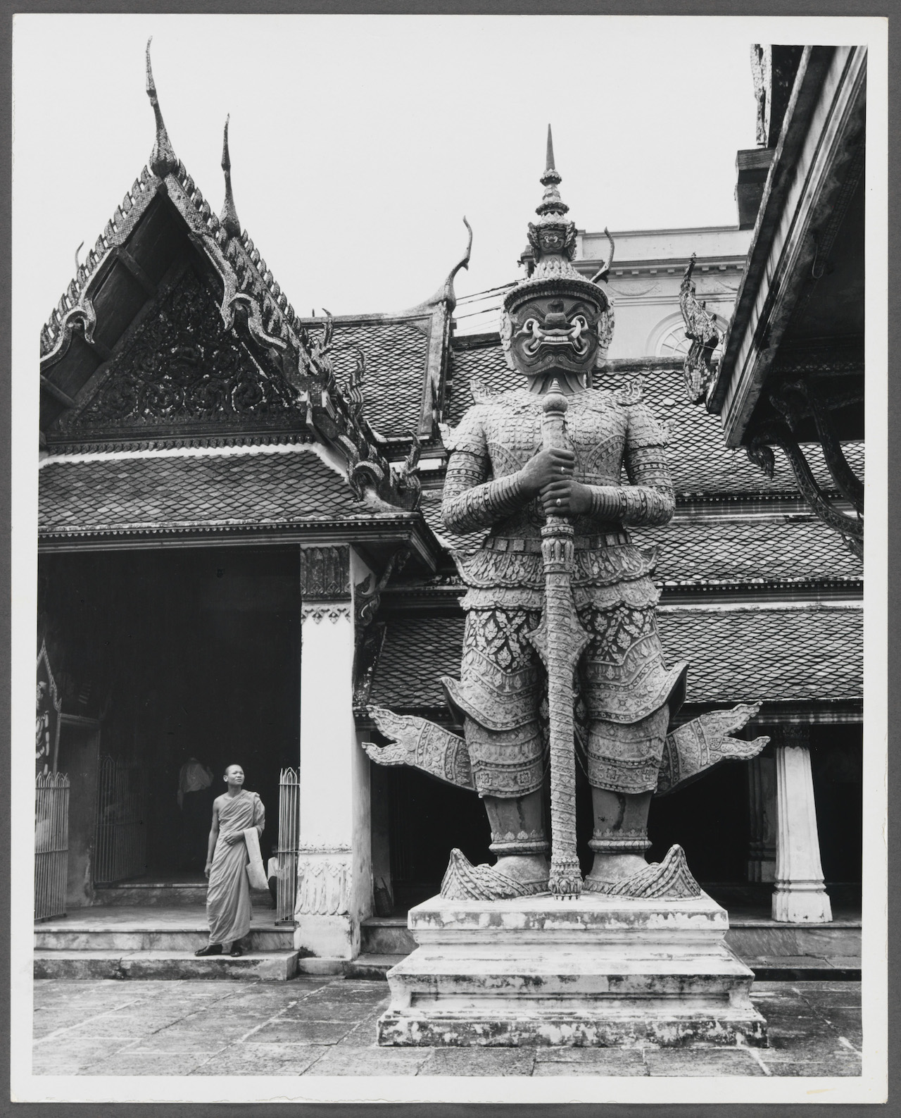 "Norman Rockwell, ""Reference photo for The Thing to Do... Bangkok, Pan American- Bangkok"" (1956)"