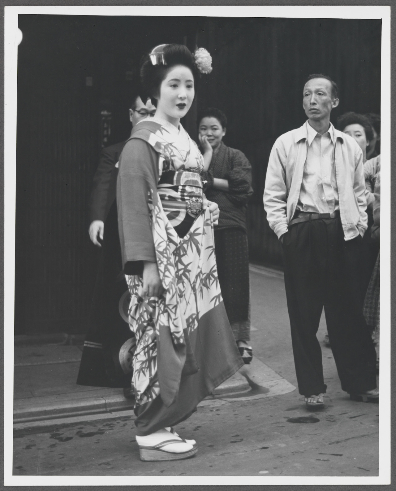 """Norman Rockwell, """"Reference photo for Portrait of a Geisha Girl, Pan American- Japan"""" (1956)"""