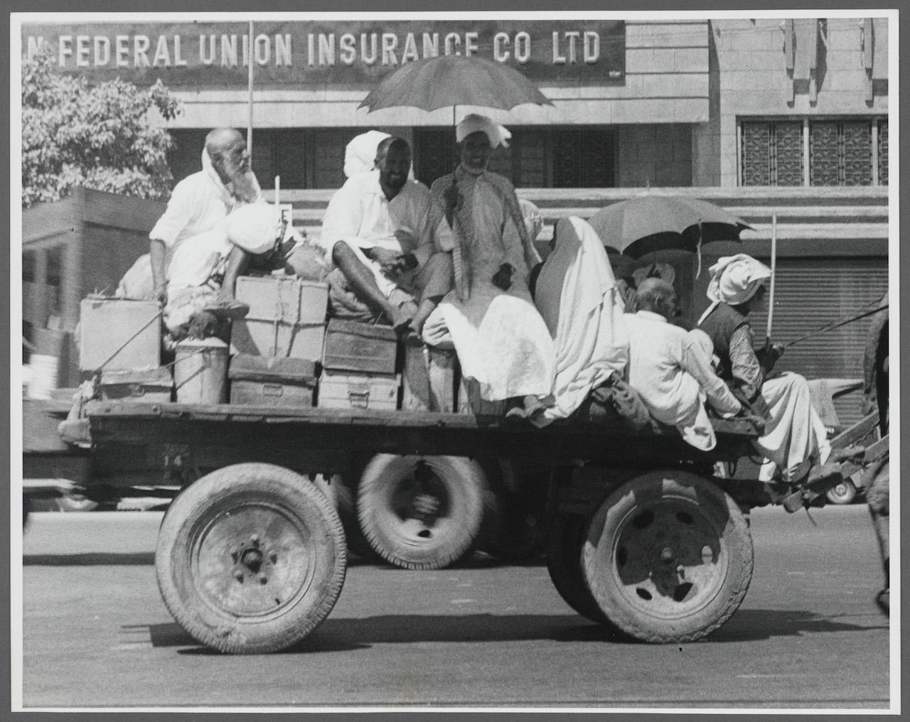 "Norman Rockwell, ""Pan American - Karachi, Pakistan"" (1956)"