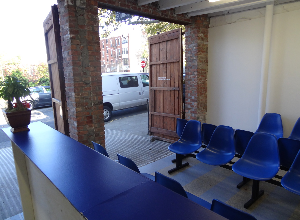 Installation view of Corina Reynolds' 'Northwestern Expansion' at Open Source Gallery