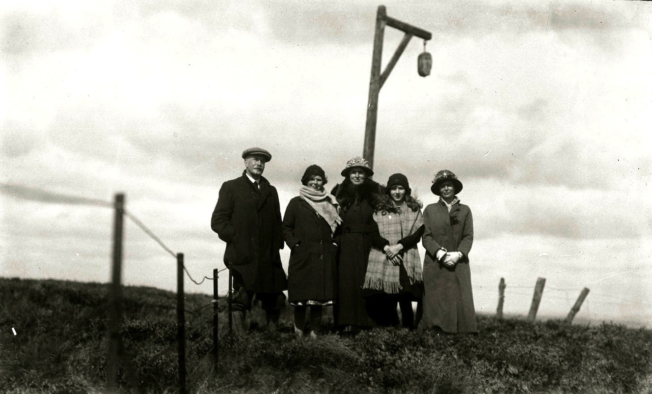 A portrait at the gibbet (all photographs courtesy Woodhorn Museum and Northumberland Archives)