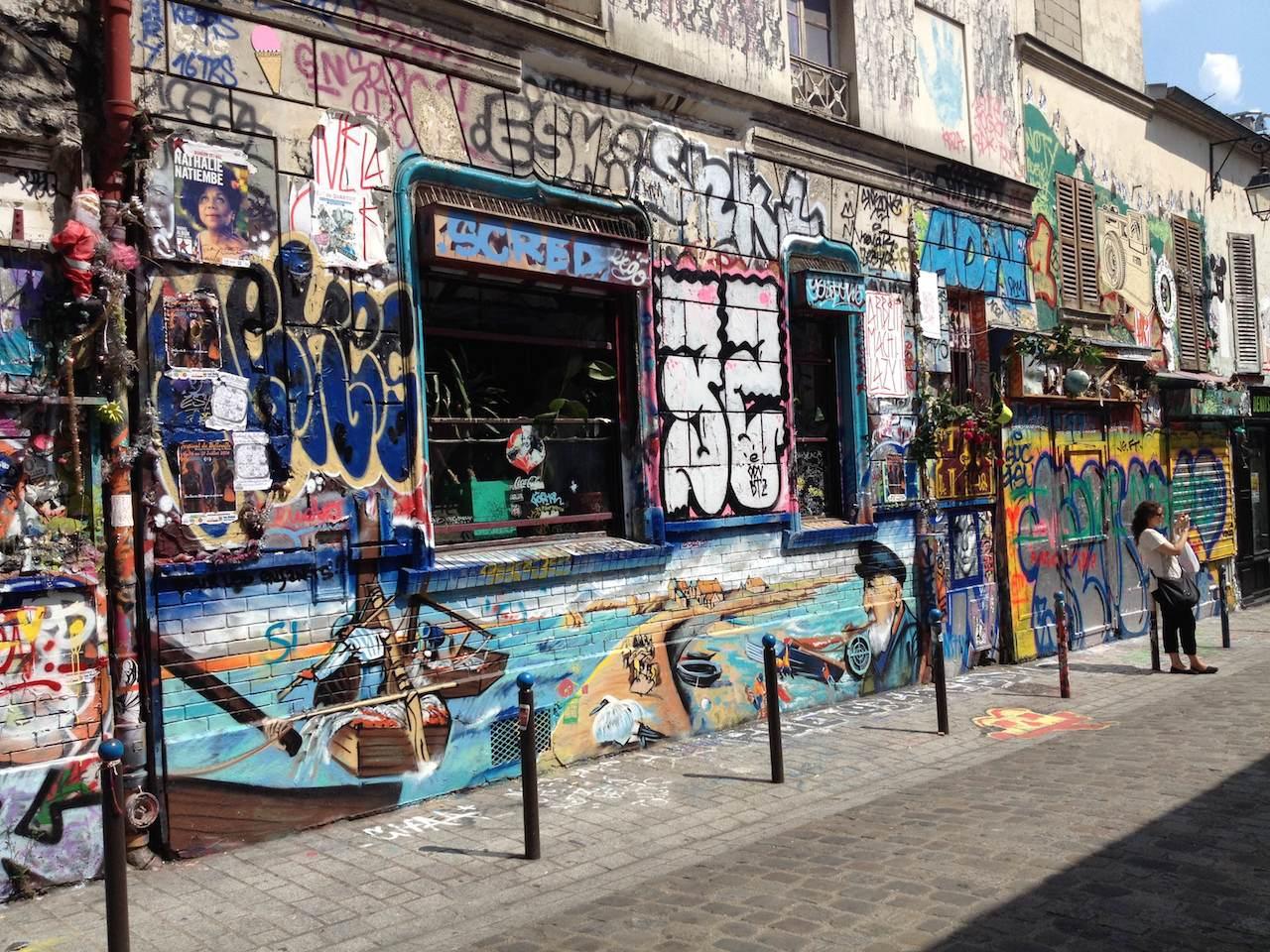 Rue Dénoyez (photo by  Parisien Néerlandais/Flickr)
