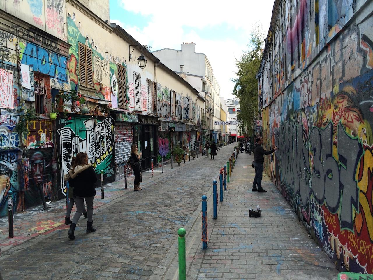 Affordable Housing Plan Threatens Parisian Street Art Haven