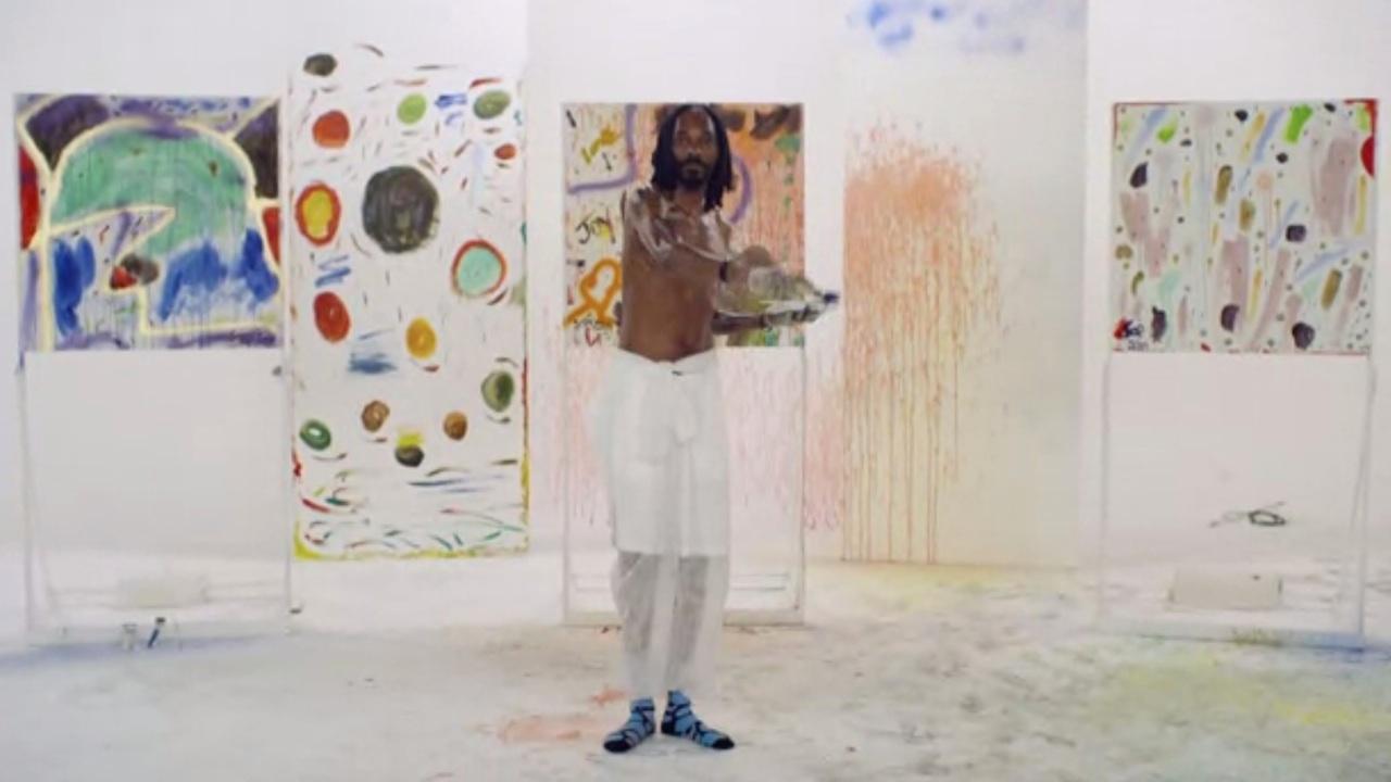 Snoop Dogg painting