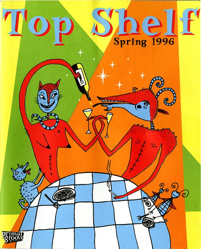 Top Shelf cover, spring 1996