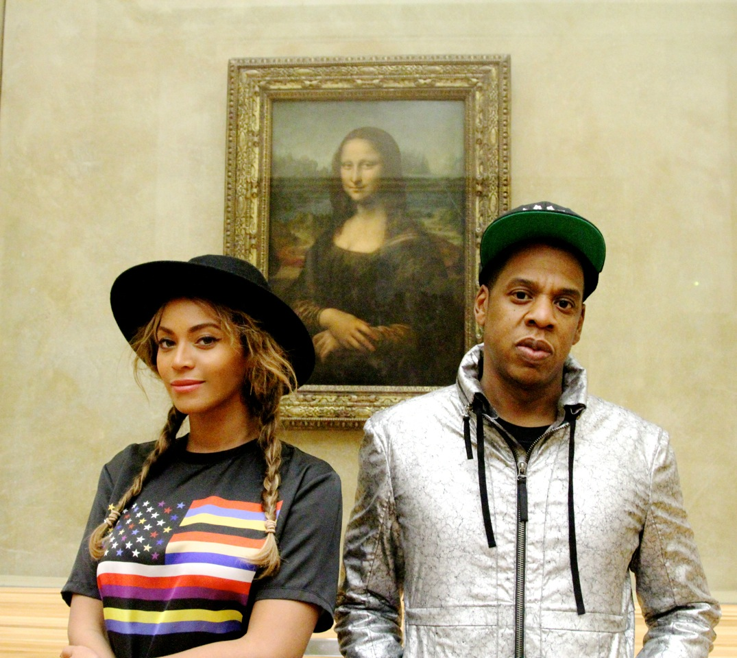 13 Responses to the Beyoncé & Jay-Z Pic with the Mona Lisa