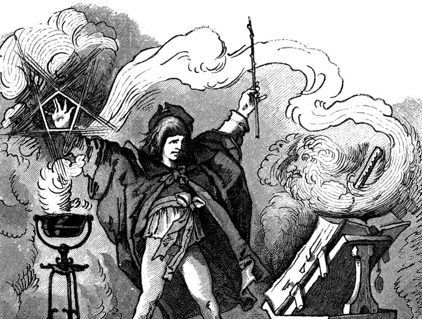 """Illustration from """"Goethe's Werke"""" (1882) (via Wikimedia Commons)"""