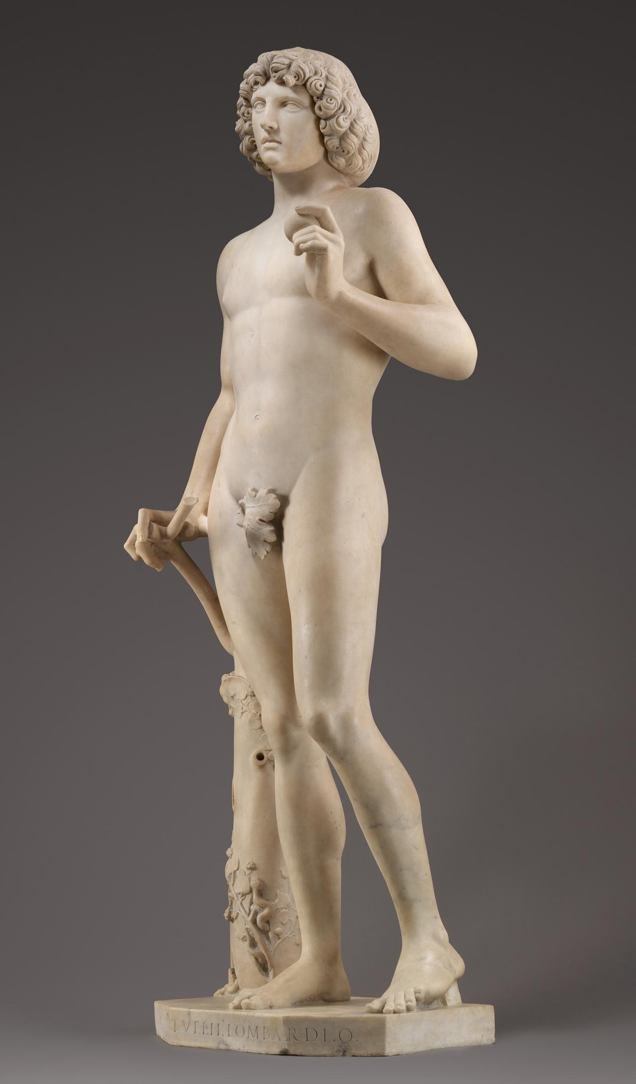"""Tullio Lomardo's """"Adam"""" in all his glory post-restoration."""