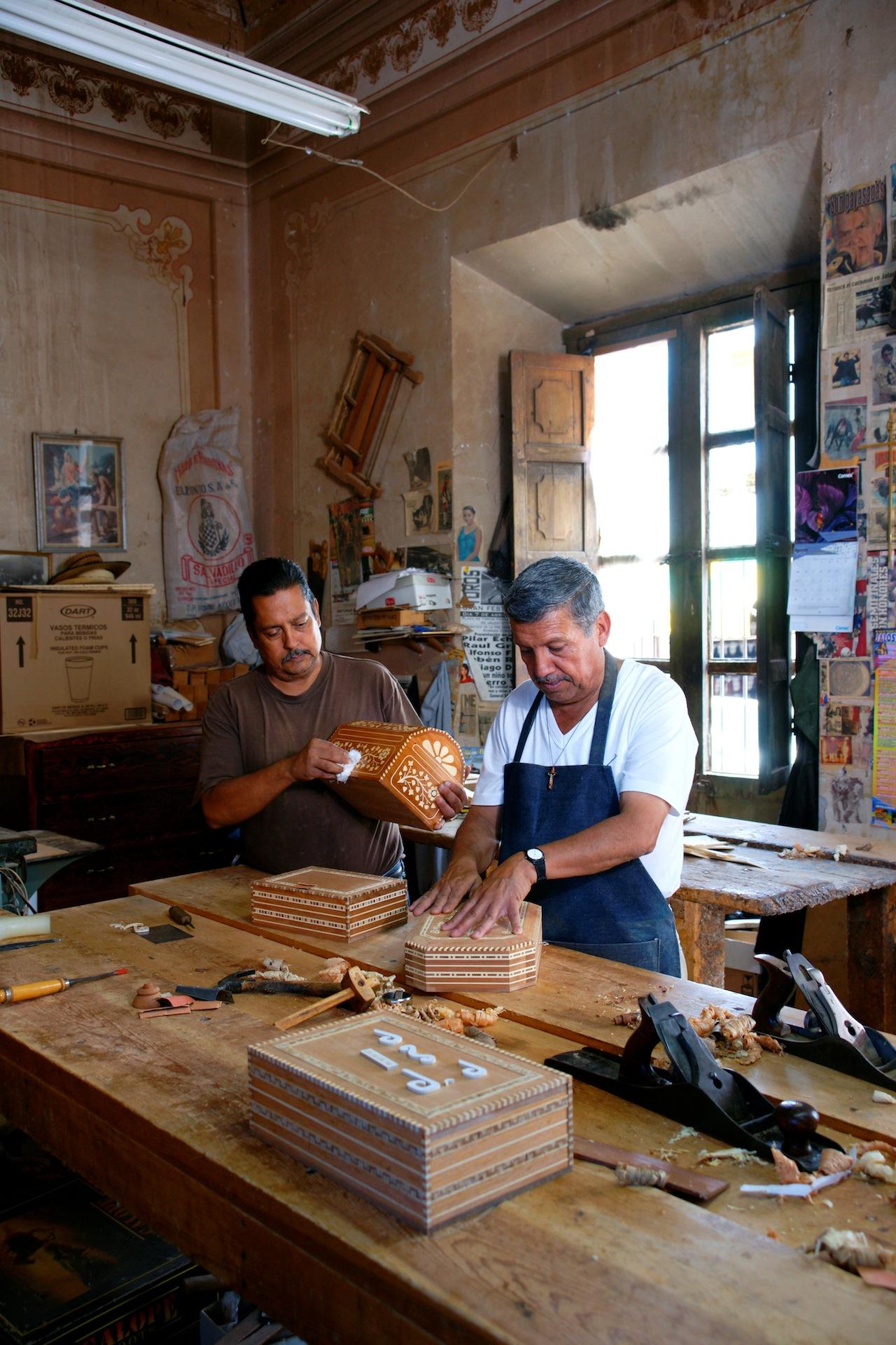 Silvano Aguirre Tejeda and Francisco Aguirre Tejeda. Jalostotitlán, Jalisco, Mexico. Image Courtesy of Fomento Cultural  Banamex, A.C.